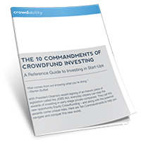 10 Commandments of Crowdfund Investing